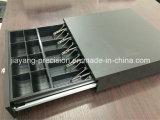 JY-410A Cash Box con construido en el cable para conectarse a cualquier impresora de recibos