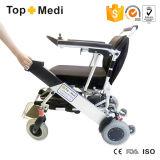 Topmedi Folding Aluminium Ultra Lightweight Power Wheelchair