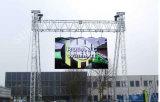 Hohe Auflösung P4 Miet-LED-Bildschirmanzeige/videobildschirm für im Freien