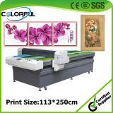 Stampante di getto di inchiostro di legno di vetro della pittura di arte della parete del blocco per grafici della tela di canapa