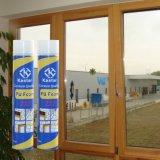 Espuma do plutônio, a instalação da janela da porta, espuma de poliuretano