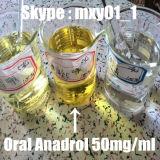 Hormona anabólica oral CAS 434-07-1 Anadrol dos esteróides para o ganho do músculo
