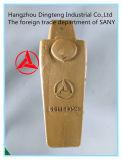 Sanyの掘削機Sy115のための掘削機のバケツの歯のホールダー60154444k