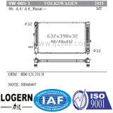 Radiador das peças de motor VW-005-1 para Volksagen A4/A6/Passat'96- Mt Dpi: 2035