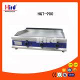 Gauffreuse de gaz (HGF-900) tout le Falt/demi de Flat&Half nervuré/matériel d'hôtel de matériel de cuisine de machine de nourriture de matériel de restauration de BBQ de matériel de boulangerie CE de miroir