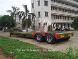 60t 10.5m 4 reboque do caminhão do vagão Lowdeck/Lowbed/Lowloader do eixo Semi