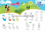 823 het Watercloset van jonge geitjes, Het Goedkope Ééndelige Ceramische Toilet van het Kind