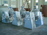 Tipo dobro secador giratório do cone para materiais tóxicos