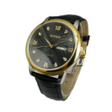 Kundenspezifisches High End Leather Band Wristwatch für Men MW-10
