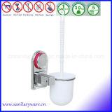 Cepillo plástico del tocador del ABS con los accesorios de la limpieza del cuarto de baño del sostenedor