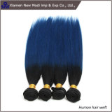 2つのカラー人間の毛髪の拡張Weft人間の毛髪