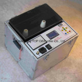 Equipamento de teste do petróleo do transformador da força dieléctrica de IEC156 ASTM D1816 D877