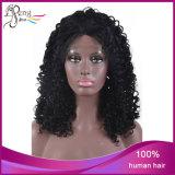 Парик шнурка оптовых Kinky курчавых бразильских волос девственницы полный