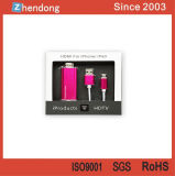 Adaptador de HDMI TVAD para el iPhone