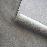 Tejido de punto sólido de terciopelo de color liso para ropa / Textiles para el hogar (Opciones de color múltiples)