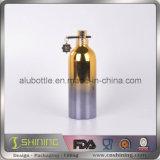 Бутылка брызга металла алюминиевая косметическая с покрытием вакуума