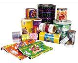 Aluminiumfolie-Verpacken- der Lebensmittelbeutel-Film/Plastik gedruckte lamellierte packende Film-Rolle