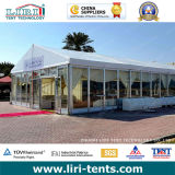 Wasserdichtes White Event Tent für 300 Seater mit Glass Walls