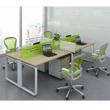 Mesa de escritório moderna da equipe de funcionários do compartimento da pessoa da estação de trabalho 2 do centro de chamadas (SZ-WST719)