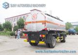 Double internacional Full Axle 15000L Oil Tank Trailer ou Chemical Liquid