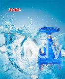 Válvula de porta do ferro de molde com Wras (BS 5163)