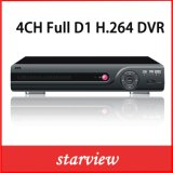 4CH Full D1 P2p Cloud DVR