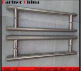 Het Handvat van de Deur van het Glas van het roestvrij staal SUS304 (01-102)