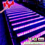 240PCS 10mm arruela da parede do diodo emissor de luz do RGB de 8 seções