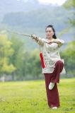 Taoísmo Wudang Tai Chi De Alto Grado De Manga Larga Pintado A Mano Bordados Abrigos