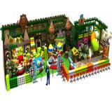 Cour de jeu d'intérieur de château vilain de modèle de jungle de conception