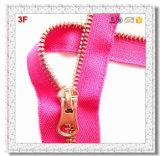 5# Metall Rose Gold Teeth mit Autolock