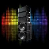 Línea altavoz M10s del sistema Loudspeakr de 2016 conciertos del arsenal