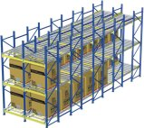 Capacidade de carga elevada Storage Gravity Racking