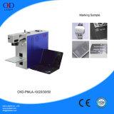 Машина маркировки лазера волокна поставщика золота Китая с Ce одобрила