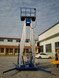 Двойной подъем алюминиевого сплава рангоута/платформа воздушной работы
