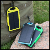 Wasserdichte Silicone Flashlight Solar 10000mAh Power Bank