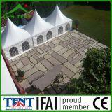 Écran de Gazebo de chapiteau de tente de pagoda de toit de PVC de jardin