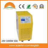 (X9-T10224-50) 50A 관제사건축하 에서를 가진 순수한 사인 파동 LCD 스크린 태양 변환장치