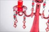 Держатель для свечи цвета металла Shine пурпуровый для украшения венчания