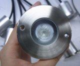 Acero inoxidable 1W LED resistente al agua cubierta de luces subterráneos (JP820211)
