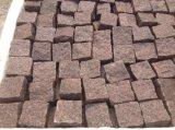 Granito de caoba de China para la piedra de pavimentación