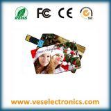 2015 venta caliente Tarjeta de crédito Mini USB Flash Drive