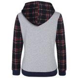 Chaqueta ocasional Hoodies caliente de la capa encapuchada del suéter de las mujeres