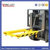 Forklift horizontal mecânico dos portadores de cilindro