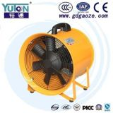 Ventilateur de aération portatif de ventilateur d'écoulement axial de Yuton