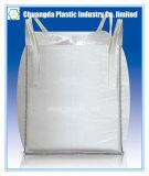 Сплетенный PP большой мешок FIBC Jumbo с перекрестными угловойыми петлями