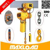 Confiance 8 (0.8/8) M/Min élévateur à chaînes électrique de 1 tonne dans la vente chaude