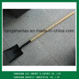 Shovel Railway Steel Shovel avec poignée de bois longue populaire S519L