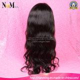 Perucas cheias brasileiras do laço do cabelo humano da densidade da onda 200% do corpo do cabelo humano da peruca da parte dianteira do laço 8-30 polegadas de perucas do cabelo humano