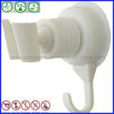 Supporto dell'acquazzone di aspirazione del silicone con l'amo del tovagliolo